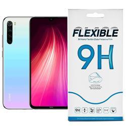 Flexible 9H Nano Glass rugalmas edzett üveg képernyővédő fólia, 0,15 mm vékony, a képernyő sík részét védi - Xiaomi Redmi Note 8