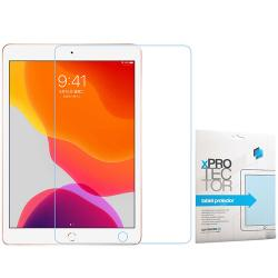 Xpro képernyővédő fólia - Clear - 1db, törlőkendővel, A képernyő sík részét védi! - APPLE iPad 10.2 (7th Generation) (2019) / iPad 10.2 (8th Generation) (2020) - GYÁRI