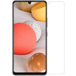 NILLKIN képernyővédő fólia - Anti-Glare - MATT! - 1db, törlőkendővel, A képernyő sík részét védi! - SAMSUNG Galaxy A42 5G (SM-A425F) - GYÁRI