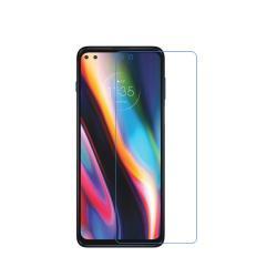 Képernyővédő fólia - Ultra Clear - 1db, törlőkendővel, A képernyő sík részét védi! - MOTOROLA Moto G 5G Plus / One 5G / Moto G100 / Edge S