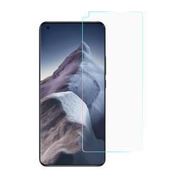 Képernyővédő fólia - Ultra Clear - 1db, törlőkendővel, A képernyő sík részét védi - Xiaomi Mi 11 / Mi 11 Ultra / Mi 11 Pro