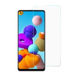 Képernyővédő fólia - Ultra Clear - 1db, törlőkendővel, A képernyő sík részét védi - SAMSUNG Galaxy A22 5G (SM-A226)