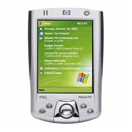 HP IPAQ H2210