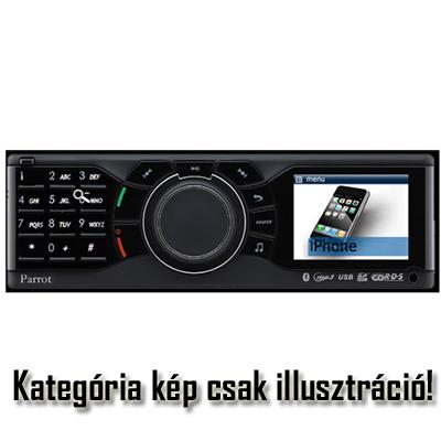 Autó rádió fejegység
