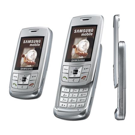 SAMSUNG SGH-E250 tartozékok