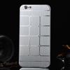 Mûanyag védõ tok / hátlap - szálcsiszolt / négyzet mintás - ZÖLD - APPLE iPhone 6