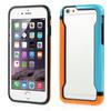 DUO szilikon védõ keret - BUMPER - KÉK / NARANCS - APPLE iPhone 6