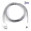 ASUS Fonepad 7 (ME372CL / ME175CG)Adatátviteli kábel / USB töltõ - microUSB 2.0, 3m hosszú - FEHÉR