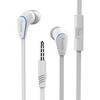 APPLE iPhone 8 PlusLangston JM-12 univerzális sztereo headset - 3,5mm jack csatlakozó, felvevõ gombos - FEHÉR