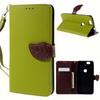 Notesz tok / flip tok - ZÖLD - asztali tartó funkciós, oldalra nyíló, rejtett mágneses záródás, bankkártya tartó zsebekkel, szilikon belsõ - HUAWEI Nexus 6P