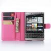 WALLET notesz tok / flip tok - MAGENTA - asztali tartó funkciós, oldalra nyíló, rejtett mágneses záródás, bankkártyatartó zseb - BLACKBERRY Passport Silver Edition