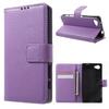 FLEXI notesz tok / flip tok - LILA - asztali tartó funkciós, oldalra nyíló, rejtett mágneses záródás, bankkártya tartó, szilikon belsõ - SONY Xperia Z5 Compact