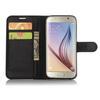 FLEXI notesz tok / flip tok - FEKETE - asztali tartó funkciós, oldalra nyíló, rejtett mágneses záródás, bankkártya tartó, szilikon belsõ - SAMSUNG SM-G930 Galaxy S7.