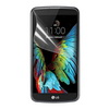 Képernyõvédõ fólia - Clear - 1db, törlõkendõvel - LG K10 (K420N)
