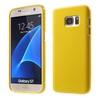 Szilikon védõ tok / hátlap - FÉNYES - SÁRGA - SAMSUNG SM-G930 Galaxy S7