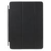 Smart cover - FEKETE - oldalra nyíló flip, TRIFOLD asztali tartó funkció - APPLE IPAD PRO 9.7