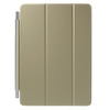 Smart cover - ARANY - oldalra nyíló flip, TRIFOLD asztali tartó funkció - APPLE IPAD PRO 9.7