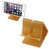 APPLE iPhone XSUNIVERZÁLIS alumínium asztali tartó / állvány - ARANY