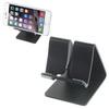 APPLE iPhone 7 PlusUNIVERZÁLIS alumínium asztali tartó / állvány - FEKETE