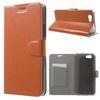 Notesz tok / flip tok - BARNA - asztali tartó funkciós, oldalra nyíló, rejtett mágneses záródás, bankkártya tartó, szilikon belsõ - ASUS Pegasus (5000 / X005)
