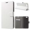 Notesz tok / flip tok - FEHÉR - asztali tartó funkciós, oldalra nyíló, rejtett mágneses záródás, bankkártya tartó, szilikon belsõ - ASUS Pegasus (5000 / X005)