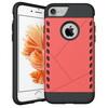 PROTECT mûanyag védõ tok / hátlap - PIROS - szilikon betétes, ERÕS VÉDELEM! - APPLE iPhone 7 (4.7)