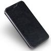 MOFI notesz / mappa tok - FEKETE - bõr hátlap, oldalra nyíló flip cover, asztali tartó funkciós, szilikon belsõ - ASUS Zenfone 3 Deluxe (ZS570KL)