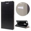 CRAZY notesz tok / flip tok - FEKETE - asztali tartó funkciós, oldalra nyíló, rejtett mágneses záródás, bankkártya tartó zsebekkel, szilikon belsõ - ASUS Zenfone 3 Ultra (ZU680KL)