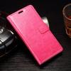 CRAZY notesz tok / flip tok - RÓZSASZÍN - asztali tartó funkciós, oldalra nyíló, rejtett mágneses záródás, bankkártyatartó zseb, szilikon belsõ - Sony Xperia E5