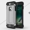 OTT! MAX DEFENDER mûanyag védõ tok / hátlap - SZÜRKE - szilikon belsõ, ERÕS VÉDELEM! - APPLE iPhone 7 Plus