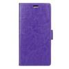 CRAZY notesz tok / flip tok - LILA - asztali tartó funkciós, oldalra nyíló, rejtett mágneses záródás, bankkártya tartó zseb, szilikon belsõ - HUAWEI G9 / HUAWEI Maimang 5
