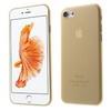 Mûanyag védõ tok / hátlap - ARANY - ultravékony, 0,3 mm - APPLE iPhone 7 (4.7)