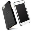 LENUO mûanyag védõ tok / bõr hátlap - FEKETE - APPLE iPhone 7 (4.7) - GYÁRI