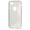Szilikon védõ tok / hátlap - SZÜRKE - FÉNYES / MATT - APPLE iPhone 7 (4.7)