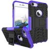 OTT! VROOM mûanyag védõ tok / hátlap - AUTÓGUMI MINTÁS - FEKETE / LILA - szilikon betétes, asztali tartó funkciós, ERÕS VÉDELEM! - APPLE iPhone 7 (4.7)