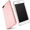 LENUO mûanyag védõ tok / bõr hátlap - RÓZSASZÍN - APPLE iPhone 7 Plus (5.5) - GYÁRI