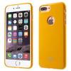 MERCURY szilikon védõ tok / hátlap - SÁRGA - APPLE iPhone 7 Plus (5.5) - GYÁRI