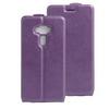 SLIM FLIP tok - LILA - lefelé nyíló, rejtett mágneses záródás, szilikon belsõ, bankkártya tartó, elõlapi hangszóró nyílás - ASUS Zenfone 3 (ZE552KL)