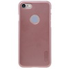 NILLKIN mûanyag védõ tok / hátlap - képernyõvédõ fólia - ROSE GOLD - APPLE iPhone 7 (4.7) - GYÁRI