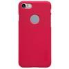 NILLKIN mûanyag védõ tok / hátlap - képernyõvédõ fólia - PIROS - APPLE iPhone 7 (4.7) - GYÁRI