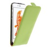 SLIM FLIP tok - ZÖLD - lefelé nyíló, rejtett mágneses záródás - APPLE iPhone 7 (4.7)