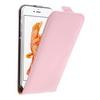 SLIM FLIP tok - RÓZSASZÍN - lefelé nyíló, rejtett mágneses záródás - APPLE iPhone 7 (4.7)
