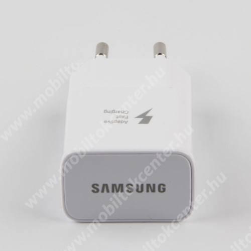 Hálózati töltő - 1x USB aljzat, gyorstöltés támogatás, 9V/1.67A; 5V/2A - FEHÉR
