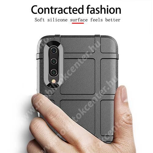 OTT! RUGGED SHIELD szilikon védő tok / hátlap - matt, ERŐS VÉDELEM - KÉK - Xiaomi Mi CC9e / Xiaomi Mi A3