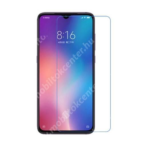 Képernyővédő fólia - Ultra Clear - 1db, törlőkendővel, A képernyő sík részét védi - Xiaomi Mi CC9 / Xiaomi Mi 9 Lite