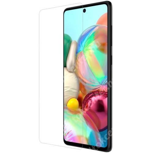 NILLKIN képernyővédő fólia - Crystal Clear - 1db, törlőkendővel - SAMSUNG Galaxy Note10 Lite (SM-N770F) / SAMSUNG Galaxy A71 (SM-A715F) / SAMSUNG Galaxy A71 5G (SM-A716F) - GYÁRI