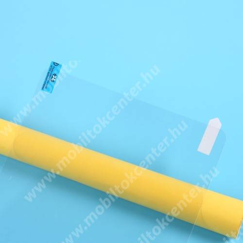 Képernyővédő fólia - Ultra Clear - 1db, törlőkendővel, A képernyő sík részét védi - SAMSUNG Galaxy Tab S7 (SM-T870/T875/T876B)