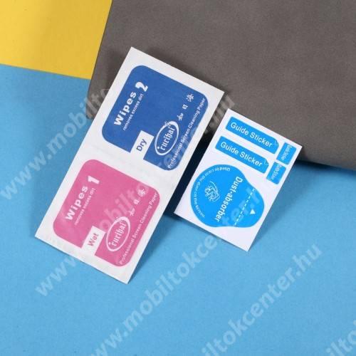 Képernyővédő fólia - Ultra Clear - 1db, törlőkendővel, A képernyő sík részét védi - Xiaomi Redmi Note 10 5G / Xiaomi Poco M3 Pro 5G