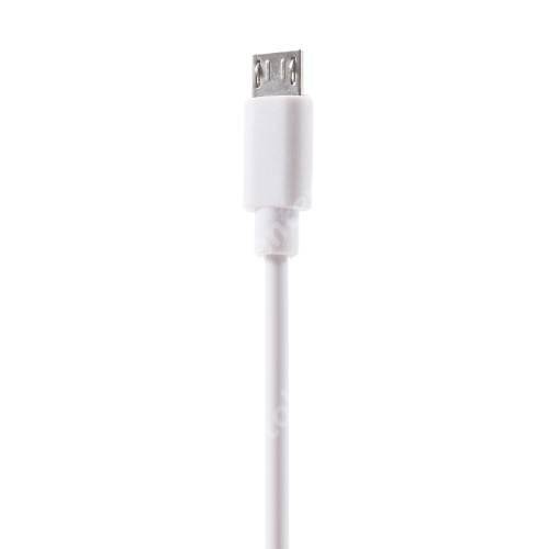 PINZUN adatátvitel adatkábel - USB / micro USB, 1m - FEHÉR