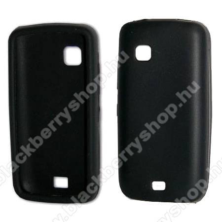Telefonvédő gumi FEKETE - NOKIA C5-03